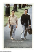 "Movie Posters:Drama, Rain Man (United Artists, 1988). One Sheet (27"" X 41""). After the death of his father, selfish Charlie Babbitt (Tom Cruise) ..."