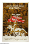 "Movie Posters:Adventure, Ride a Wild Pony (Buena Vista, 1976). Poster (40"" X 60""). Disneyadventure with the message that issues aren't always black ..."