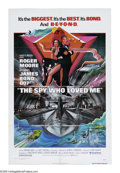 "Movie Posters:Drama, The Spy Who Loved Me (United Artists, 1976). One Sheet (27"" X 41""). Agent 007 must work with his female Soviet counterpart t..."