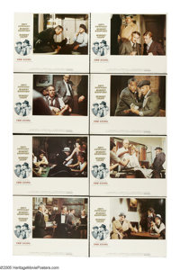 "The Sting (Universal, 1974). Lobby Card Set of 8 (11"" X 14""). ""The Sting"" paired Robert Redford and..."