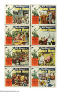 "Movie Posters:Adventure, The Story of Robin Hood (RKO, 1952). Lobby Card Set of 8 (11"" X14""). Walt Disney's live action version of the legend of Rob...(Total: 8 Items)"