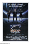 "Movie Posters:Fantasy, Superman II (Warner Brothers, 1980). One Sheet (27"" X 41"") Advance. The Man of Steel has renounced his powers to marry Lois ..."