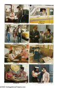 """Movie Posters:Crime, Taxi Driver (Columbia, 1976). Mini Lobby Card Set of 8 (8"""" X 10"""") . These are vintage mini lobby cards for this crime drama ... (Total: 8)"""