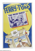 "Movie Posters:Animated, Terry-Toons Stock Poster (20th Century Fox, 1939). One Sheet (27"" X 41""). This unusual stock poster from Paul Terry's Terry-..."