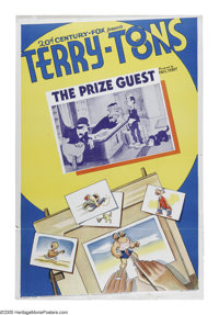 """Terry-Toons Stock Poster (20th Century Fox, 1939). One Sheet (27"""" X 41""""). This unusual stock poster from Paul..."""