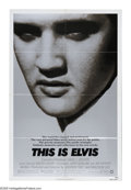 "Movie Posters:Documentary, This Is Elvis (Warner Brothers, 1981). One Sheet (27"" X 41""). Biography of the King that is both tribute and commentary. Min..."