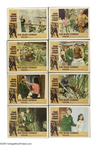 "Von Ryan's Express (20th Century Fox, 1965). Lobby Card Set of 8 (11"" X 14""). ""I once told you Ryan, if o..."