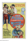 "Movie Posters:Western, Wildcat Saunders (Atlantic Pictures, 1936). One Sheet (27"" X 41"").Prize fighter ""Wildcat"" Saunders (Jack Perrin) goes out W..."