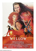 """Movie Posters:Fantasy, Willow (MGM, 1988). One Sheet (27"""" X 41""""). Ron Howard's epicfantasy tells the tale of Willow Ufgood, a dwarf who must rescu..."""
