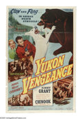 "Movie Posters:Adventure, Yukon Vengeance (Allied Artists, 1954). One Sheet (27"" X 41""). Thelast of nine films starring Kirby Grant (""Sky King"") as C..."