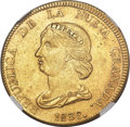 Colombia, Colombia: Republic gold 16 Pesos 1838 BOGOTA-RS MS62 NGC,...