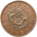 China:Kirin, China: Kirin. Kuang-hsu copper 20 Cash ND (1903) XF45 Brown PCGS,...