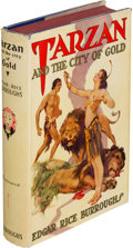 Books:Science Fiction & Fantasy, Edgar Rice Burroughs. Tarzan and the City of Gold. Tarzana:Edgar Rice Burroughs, [1933]. First edition of the sixte...