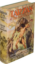 Books:Science Fiction & Fantasy, Edgar Rice Burroughs. Tarzan at the Earth's Core. New York:Metropolitan Books, [1930]. First edition of the thirtee...