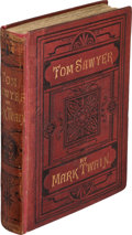 Books:Literature Pre-1900, Mark Twain. The Adventures of Tom Sawyer. London: Chatto andWindus, 1876. First English edition, preceding the ...
