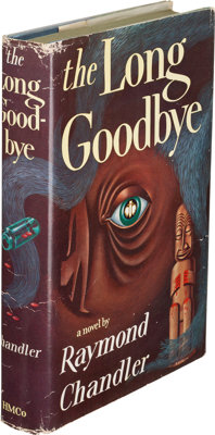 Raymond Chandler. The Long Goodbye. Boston: Houghton Mifflin Company, 1954. First edition, pres