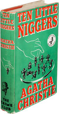 Books:Mystery & Detective Fiction, Agatha Christie. Ten Little Niggers. London: Collins for TheCrime Club, [1939]. First edition....