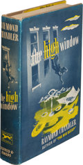 Books:Mystery & Detective Fiction, Raymond Chandler. The High Window. New York: Alfred A. Knopf: 1942. First edition....
