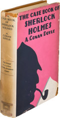 Books:Mystery & Detective Fiction, A[rthur]. Conan Doyle. The Case Book of Sherlock Holmes. NewYork: George A. Doran Company, [1927]. First U. S. edit...