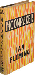"Books:Mystery & Detective Fiction, Ian Fleming. Moonraker. London: Jonathan Cape, [1955]. First edition, second state with ""shoot"" correctly spelle..."