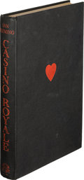 Books:Mystery & Detective Fiction, Ian Fleming. Casino Royale. London: Jonathan Cape, [1953].First edition, dust jacket artist Kenneth Lewis's copy wi...