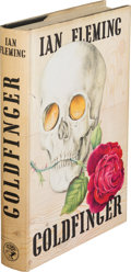 Books:Mystery & Detective Fiction, Ian Fleming. Goldfinger. London: Jonathan Cape, [1959].First edition....