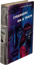 Books:Mystery & Detective Fiction, Patricia Highsmith. Strangers on a Train. New York: Harper& Brothers, [1950]. First edition....