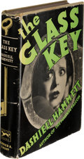 Books:Mystery & Detective Fiction, Dashiell Hammett. The Glass Key. New York: Alfred A. Knopf,1931. First U. S. edition....