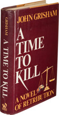 Books:Mystery & Detective Fiction, John Grisham. A Time to Kill. New York: Wynwood Press,[1989]. First edition, inscribed by the author on the hal...