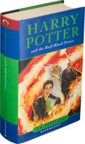Books:Children's Books, J. K. Rowling. Harry Potter and the Half-Blood Prince. London: Bloomsbury, 2005. First edition, official bookplate ...