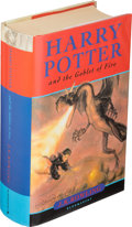 Books:Children's Books, J. K. Rowling. Harry Potter and the Goblet of Fire. First edition, signed by the author on the dedication pa...