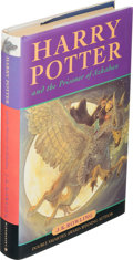 Books:Children's Books, J. K. Rowling. Harry Potter and the Prisoner of Azkaban. London: Bloomsbury, [1999]. First edition, first state ...