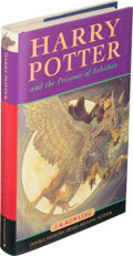 Books:Children's Books, J. K. Rowling. Harry Potter and the Prisoner of Azkaban.London: Bloomsbury, [1999]. First edition, first state....
