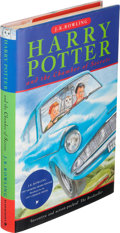 Books:Children's Books, J. K. Rowling. Harry Potter and the Chamber of Secrets.London: Bloomsbury, [1998]. First edition, signed by the a...
