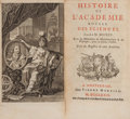Books:Science & Technology, [L'Académie Royale des Sciences]. Histoire de L'Académie Royale des Sciences. [together with:] Traite Physiq... (Total: 110 Items)