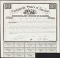 Confederate Notes:Group Lots, Ball 2 Cr. 5 $50 1861 Bond Fine.. ...