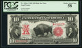 Large Size:Legal Tender Notes, Fr. 122* $10 1901 Legal Tender PCGS Choice About New 58.. ...