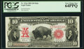 Large Size:Legal Tender Notes, Fr. 121 $10 1901 Mule Legal Tender PCGS Very Choice New 64PPQ.. ...