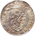Italy:Genoa, Italy: Genoa (Genova). Republic (Biennial Doges) 2 Scudi 1676-ILMAU Details (Damaged, Scratched) NGC,...