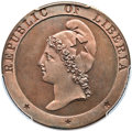 Liberia, Liberia: Republic Proof 2 Cents 1847 PR66 Brown PCGS,...