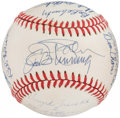 Autographs:Baseballs, No-Hitters Multi-Signed Baseball (18 Signatures). ...