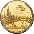 German States:Frankfurt, German States: Frankfurt. Free City gold Ducat 1796 MS63+ NGC,...
