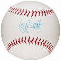 Autographs:Baseballs, George Brett Single Signed Baseball. ...