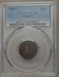 Bust Dimes: , 1820 10C Small 0 VG10 PCGS. PCGS Population: (8/122). ...