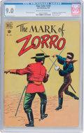 Golden Age (1938-1955):Adventure, Four Color #228 The Mark of Zorro (Dell, 1949) CGC VF/NM 9.0 Cream to off-white pages....