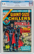 Bronze Age (1970-1979):Horror, Giant-Size Chillers #1 (Marvel, 1974) CGC NM 9.4 Off-whitepages....