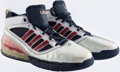 Basketball Collectibles:Others, 2008 Dwight Howard Game Worn Summer Olympics Sneakers....