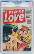 Golden Age (1938-1955):Romance, First Love Illustrated #31 File Copy (Harvey, 1953) CGC VF/NM 9.0Cream to off-white pages....