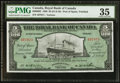 Canadian Currency: , Port of Spain, Trinidad- The Royal Bank of Canada $5 £1-0-10 Jan.2, 1920 Ch. # 630-66-02.. ...