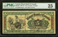 Canadian Currency: , Port of Spain, Trinidad- The Royal Bank of Canada $5 Jan. 2, 1909Ch. # 630-64-02.. ...